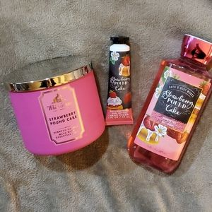 Bath and Body Works STRAWBERRY POUND CAKE